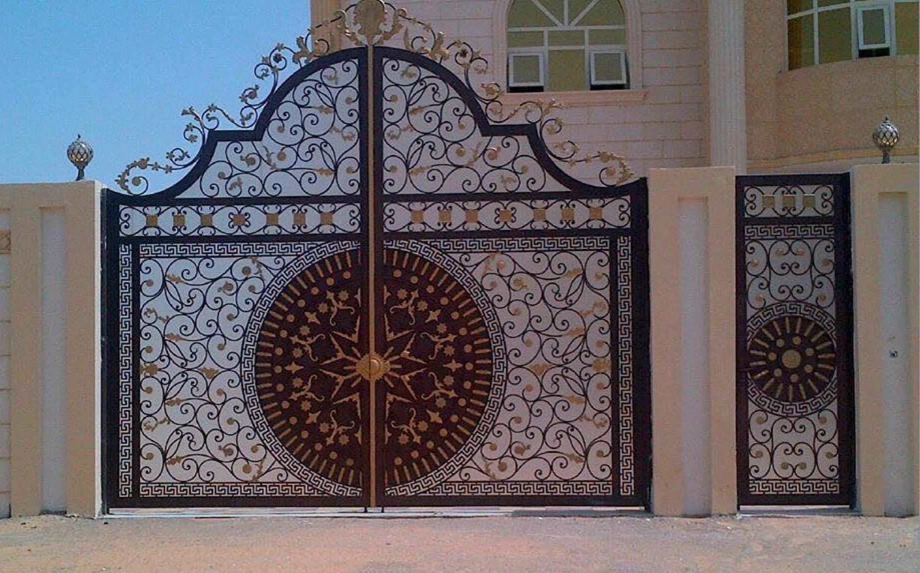 fabricant portail fer forg villa au maroc rabat casablanca marrakech fabricant. Black Bedroom Furniture Sets. Home Design Ideas